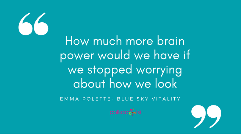 How much more brain power would we have if we stopped worrying about how we look