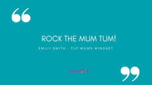 Rock the mum tum: Emily Smith